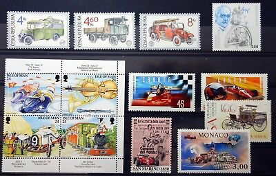 Cars lot MNH