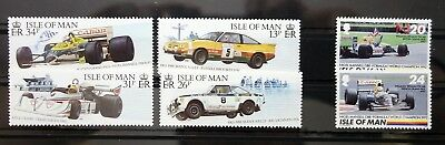 Isle of Man cars lot MNH