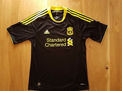 Liverpool Football Club Adidas #23 Torbett Away Jersey, 2010 - 2011, size M