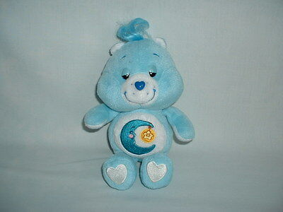 CARE BEARS BEDTIME BEAR Cuddly Soft Beanie Plush Toy (THOSE CHARACTERS/MOVIE)