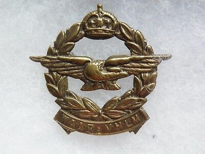 Cap badge Royal South africa air force WW II WAAF VHLM