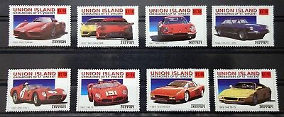 Grenadines of St Vincent Union Island 2002 cars MNH