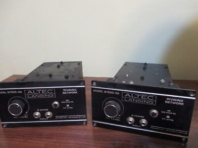 ALTEC  N1285-8A   passive horn crossover   PAIR  excellent.  (500,  800,  1200