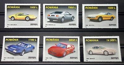 Romania 1999 cars MNH