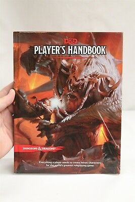 D&D Dungeons & Dragons 5e Player's Handbook