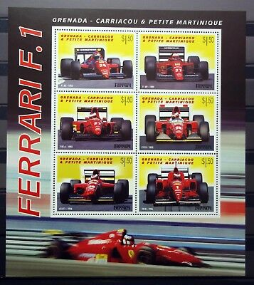 Grenada Martinique 2001 cars MNH