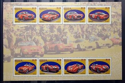 Grenadines of St Vincent Bequia 2002 cars MNH