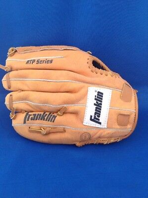 "Franklin RTP  4640-11"" Baseball Glove. Right Hand Throw Deer Touch"
