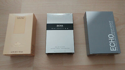Davidoff Zino Echo Hugo Boss Selection Eau de Toilette  EDT Spray Herren