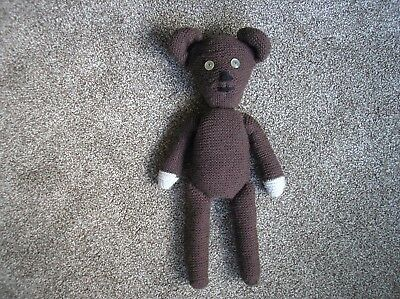 """MR BEAN TEDDY Hand Knit 15"""" NEW Mr Bean Fans Gift Like the real thing!"""
