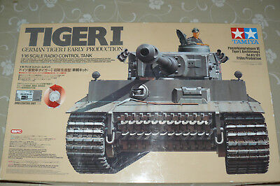 Tamiya 50611 RC Tiger I 1/16 tank kit with free delivery in EU