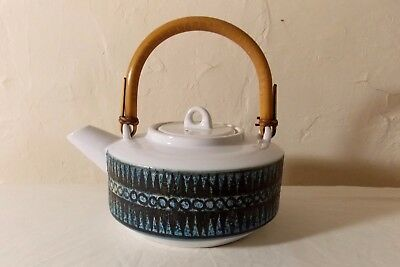 Lovely Rare Early Troika St Ives Tea Pot