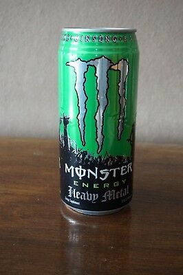 Monster Energy Drink Heavy Metal Dose VOLL USA