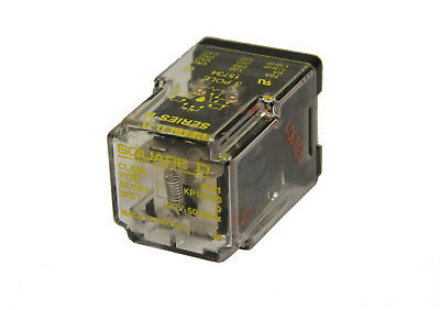 Square D 8501KP13V20 Series D Power Relay Plug-In 120V 50/60Hz 3 Pole 11 Pin New