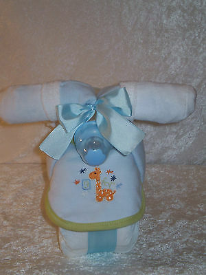 Bicycle Diaper Cake ~ Boy ~ Centerpiece ~ Baby Shower Gift