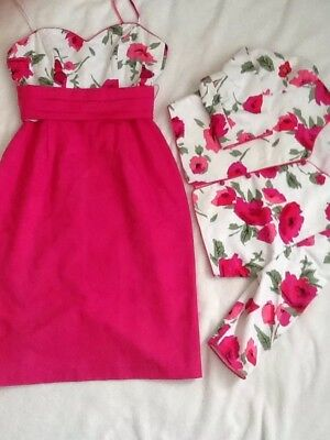 Tessara London ,Dress Suit ,Wedding ,cruise Party Size 12,3 Pieces ,