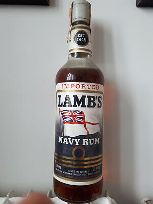 Rhum LAMB'S Navy Rum Old Bottling Guyana Jamaica