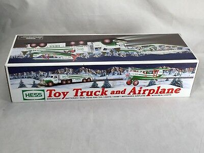2002 Hess Collectible Toy Truck and Airplane New in Box