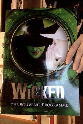 Wicked London souvenir theatre programme 2017