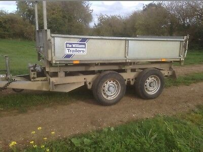 Ifor Williams 8Ft Tipper Tipping Trailer