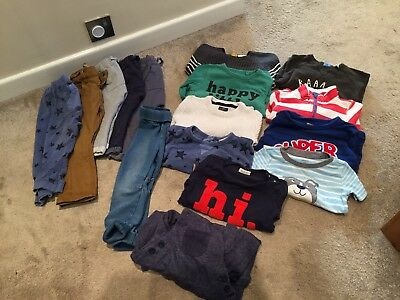 Baby Boys Massive Bundle 12-18 Months Bought This Year Tops Trousers Next Joules