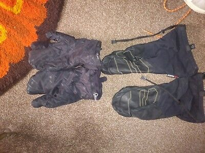 Black Diamond mountaineering high altitude mittens outer and liners