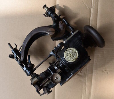 Seltene Heinrich Grossmann Nähmaschine. Antik.Rare antique german Sewing Machine
