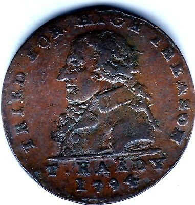 Middlesex  Halfpenny 1794  T.Hardy