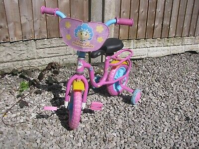 Fifi and the flowertots childs bike with stabilisers cash on collection