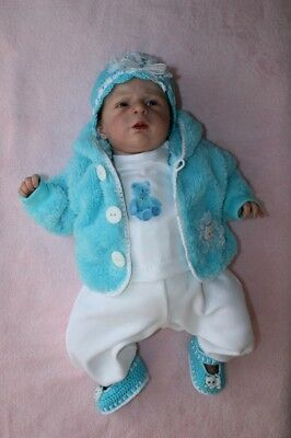 """Beautiful outfit dress five set for 18-19"""" OOAK baby doll reborn"""