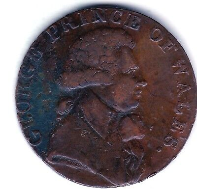 Middlesex  Halfpenny ND  Prince of Wales  (Lancaster London or Bristol )