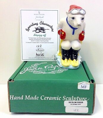 """Beswick Sporting Characters """"Sloping Off"""" Limited Edition Figurine."""