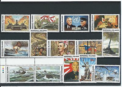 Marshall Islands Stamps - Second World War - IIWW - MNH