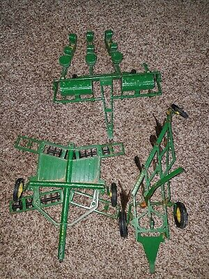 VINTAGE ERTL JOHN DEERE Tractor Accessories  LOT 1:16 SCALE for parts