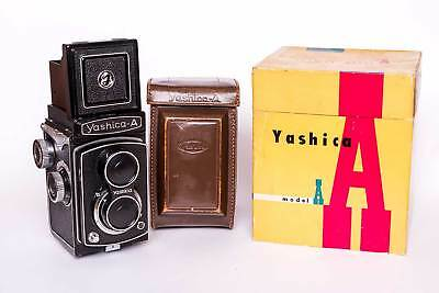 Superbe YASHICA A (1959) - boxed