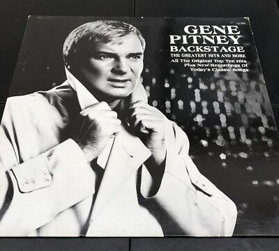 Gene Pitney Backstage Vinyl LP Album