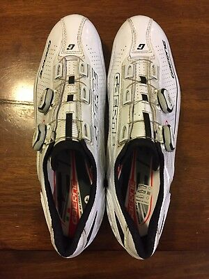 Gaerne Carbon G.Chrono + Cycling Shoe - Size 44, white