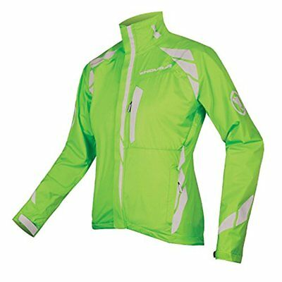 Endura 2015 Women's Luminite II Cycling Jacket (Hi Viz Green / (M) Medium)