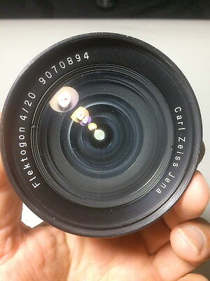 Carl Zeiss  Flektogon  20mm  wide angle lens canon eos mount