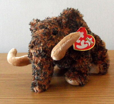 TY beanie babies Giganto the woolly mammoth 2001 With Tag