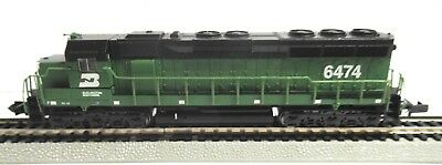 N-Scale Bachmann Spectrum Locomotive Sd 45 Dc Diesel Burlington Northern #6474