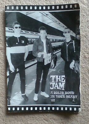 The Jam   A  Solid Bond In Your Heart  1982  Programme