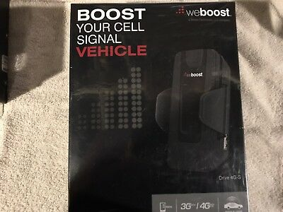 WeBoost Vehicle Drive 4G-S Car Cell Phone Signal Booster | New