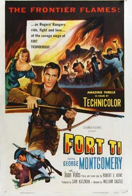 FORT TI 1953 GEORGE MONTGOMERY DVD-r