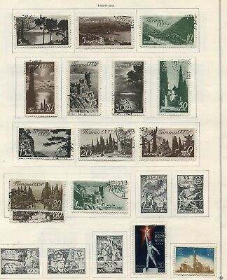CCCP/Soviet-Union -  Small collection MH/Cancelled
