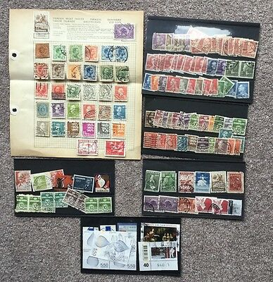 Denmark, small collection of stamps.