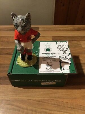 Royal Doulton Beswick Footballing Felines Kitcat New in Box Limited Edition