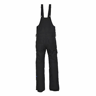 686 Hot Lap Insulated Ski Snowboard Bib Pant Black
