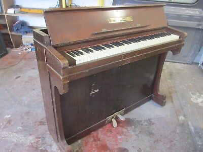 Mini Piano Believed From 1881 Antique Collectors Item   No Reserve Auction
