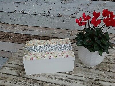 wooden box with vintage threads 2